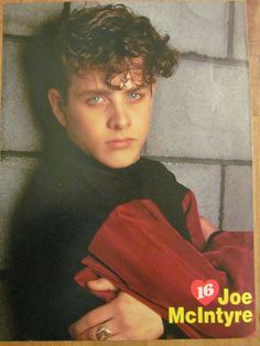 New Kids on the Block, Joey Joe McIntyre, Full Page Vintage Pinup