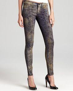Rich & Skinny Jeans - Snake Print Legacy Skinny | Bloomingdale's
