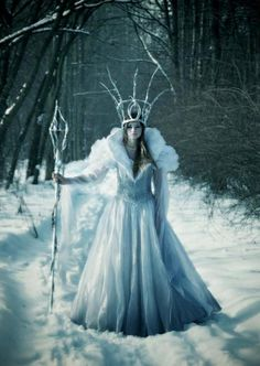 Fantasy | Magic | Fairytale | Surreal | Myths | Legends | Stories | Dreams | Fairy tale fashion fantasy.Snow Queen