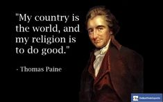 Thomas Paine: Firebrand for Freedom | The Quark In The Road