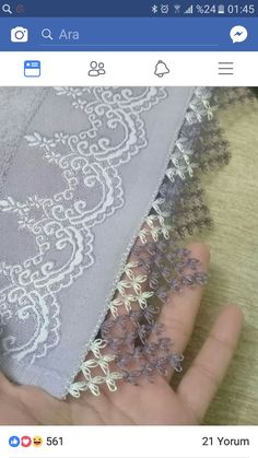 This post was discovered by Meryem ERKAN. Discover (and save!) your own Posts on Unirazi. Needle Tatting, Tatting Lace, Needle Lace, Lace Embroidery, Embroidery Stitches, Embroidery Designs, Baby Knitting Patterns, Crochet Patterns, Bargello