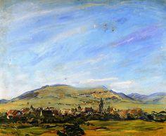 Max Slevogt - Blick von Godramstein in Richtung Frankweiler (1913)