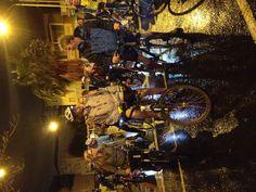 Come rain or shine we ride!