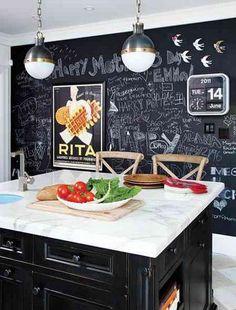 68 Best Kitchen Blackboard Images On Pinterest Chalk Board Diy