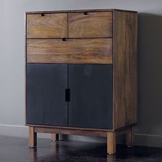 i like this piece...Stash Tall Chest in bedroom furniture | CB2