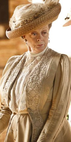 Violet, Dowager Countess of Grantham - Downton Abbey