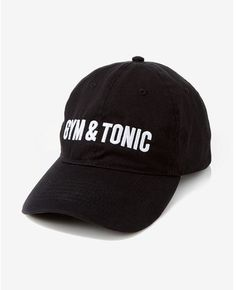 Express Gym And Tonic Baseball Hat #fitness #cap