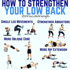 8 Stretch Exercises to Relieve Lower Back Pain Handicap Low Back Strengthening Exercises, Lower Back Pain Exercises, Hip Flexor Exercises, Lower Back Muscles, Stretching Exercises, Lower Back Exercises Strengthen, Lower Back Workouts, Strengthen Hip Flexors, Back Extension Exercises