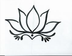 Seven Shocking Facts About Tattoo Lotus Flower Drawing Lotus Flower Tattoo Design, Lotus Design, Art Design, Flower Tattoos, Lotus Drawing, Plant Drawing, Easy Mandala Drawing, Lotus Art, Tribal Tattoo Designs