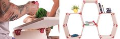 PlayWood Allows You To Create Your Own Furniture Designs