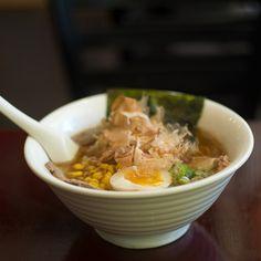 Okinawa Style Bonito Ramen - うみんちゅ(海人) ラーメン @ Ramen Tenma