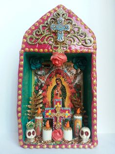 Virgin of Guadalupe religious temple shrine