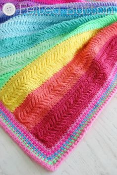 Plaited throw #crochet blanket pattern for sale from @feltedbutton