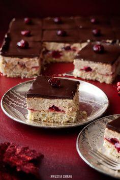 Poppy Cake with Cranberry and Coffee Grounds - Kwestia Smaku