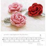 Watch The Video Splendid Crochet a Puff Flower Ideas. Phenomenal Crochet a Puff Flower Ideas. Roses Au Crochet, Appliques Au Crochet, Col Crochet, Crochet Leaves, Crochet Chart, Crochet Motif, Irish Crochet, Crochet Flowers, Diy Crochet Rose