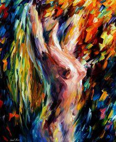 Morning — PALETTE KNIFE Oil Painting On Canvas by Leonid Afremov on AfremovArtGallery, $319.00