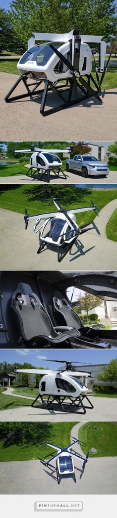 workhorse group's personal passenger drone due to be unveiled at CES 2018 - created via https://pinthemall.net