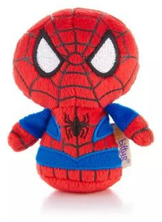 Spider-Man and Marvel fans will love this tiny version of the web slinging Super Hero. Hallmark's itty bittys® plush are so fun to collect that you'll want to own each and every one of these perfectly-sized companions. Give this fun collectable to the super kid in your life as a fun back-to-school surprise!
