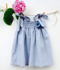Blouse for girl  2/6  years size  boho clothing for by Cecibirbona www.risonero.it