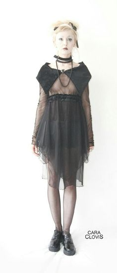 Chiffon doll dress