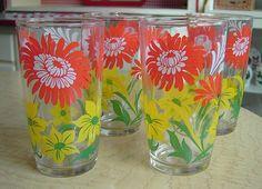 Vintage Glassware by Ticklefeathers, via Flickr