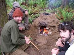 earth oven for primitive cooking