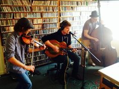Marty O'Reilly & The Old Soul Orchestra at KHUM radio.