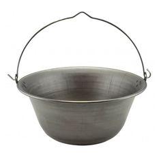 Železný kotlík na guláš 3 L Camping cauldron Cauldron, Camping, Campsite, Campers, Tent Camping, Rv Camping
