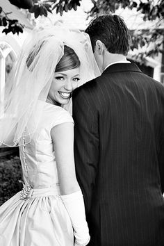 bride & groom -- What a perfect picture!!! Love!!!