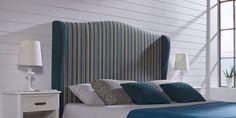 Cabecero MARBELLA   Canapi Inspirado en el Mediterráneo, su diseño engloba lo más actual con lo más romántico, evocándonos con sus armoniosas líneas y acabados años pasados.
