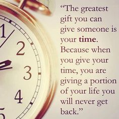 The greatest gift you can give is time. Spend some time in our clinic and you're giving a gift to 1000s of patients.