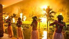 Fijian wedding entertainment Intercontinental Fiji Golf Resort and Spa...using local entertainment is a MUST!  Follow me for truly inspiring ideas on an elegant wedding in Fiji.