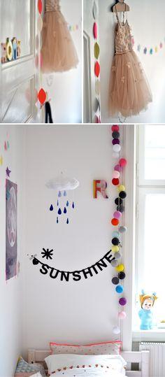 decor in kids room..