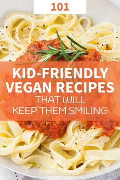 Looking for fun and kid-friendly vegan meals you can make for the young ones? Ch… Looking for fun and kid-friendly vegan meals you can make for the young ones? Check out this 101 roundup of kid-friendly vegan recipes you need to try! Clean Eating Snacks, Healthy Eating, Snacks Sains, Vegan Dinners, Vegan For Kids Meals, Vegetarian Recipes For Kids, Vegan Recipes Beginner, Vegan Recipes Kid Friendly, Cooking Recipes For Kids