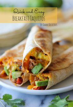 These are the best breakfast recipes ever. Easy to make and perfect for breakfast, brunch or breakfast for dinner. Breakfast And Brunch, Make Ahead Breakfast, Breakfast Dishes, Breakfast Recipes, School Breakfast, Breakfast Ideas, Breakfast Burritos, Breakfast Sandwiches, Mexican Breakfast