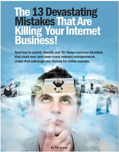 13 Devastating Mistakes Killing Your Internet Business at a 99.6% Failure Rate  Have you ever felt confused, stuck or overwhelmed by information overload? Are you not quite sure where to begin or what it really takes to create a sustainable cash flow? There are 13 blunders that are disastrous and almost always result…  http://johneengle.com/13-mistakes-killing-internet-business/  #NetworkMarketing, #MLM, #Blogging