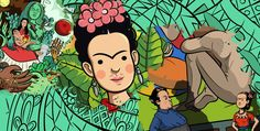 Frida Kahlo, Violeta Parra, and Juana Azurduy are just some of the women depicted in this book series, which aims to depict women with agency and strength.