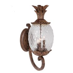 Found it at Wayfair - Pineapple 3 Light Outdoor Sconce