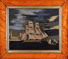 Inventory | Earle D. Vandekar of Knightsbridge Inc. Sailor, Royal Marines, Old And New, Folk Art, Needlework, It Works, Art Projects, Exotic, British
