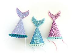 Amazing Ideas for a Beautiful Mermaid Birthday Party! Style a beautiful under the sea birthday with gorgeous mermaid party ideas. These mermaid party food ideas Birthday Party Hats, First Birthday Parties, First Birthdays, Birthday Kids, Little Mermaid Birthday, Little Mermaid Parties, Unicorn Party, Metallic Pink, Purple Gold