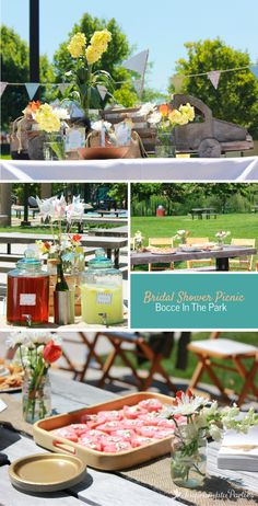 Bridal Shower Picnic - Bocce In The Park