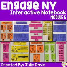 """This is an interactive notebook used to supplement the Engage NY Kindergarten Math Curriculum. There is one interactive activity for each of the 24 lessons in Module 5 plus some extras. Each activity includes an """"I Can"""" statement. The only materials that are needed to use this resource are a notebook and classroom supplies."""