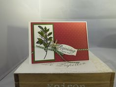 Stampin Up at The Warren: Peaceful Wreath meets Versatile Christmas
