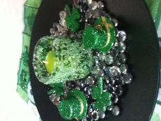 St Patrick's day centerpiece
