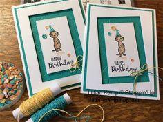 Cute little meerkats bringing birthday wishes Kids Birthday Cards, Handmade Birthday Cards, Greeting Cards Handmade, Birthday Wishes, Cat Cards, Kids Cards, Scrapbooking, Scrapbook Cards, Happpy Birthday