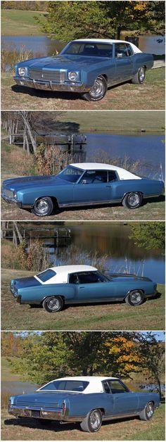 1970 Chevrolet Monte Carlo SS-454