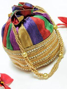 Colorful Potli Bag Rs.919/-