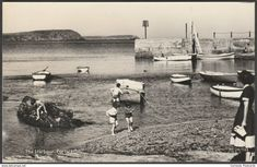 The Harbour, Portscatho, Cornwall, c.1950s - Overland Views RP Postcard