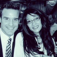 Krystyn Chong and Eddie McClinktock