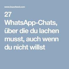 27 WhatsApp-Chats, über die du lachen musst, auch wenn du nicht willst